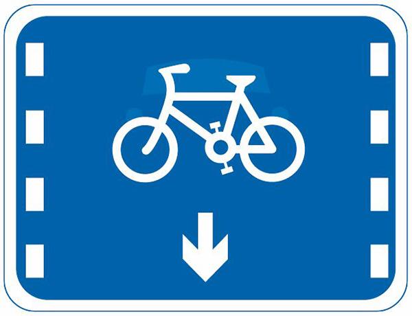 此图为非机动车车道,别误以为自行车专用车道